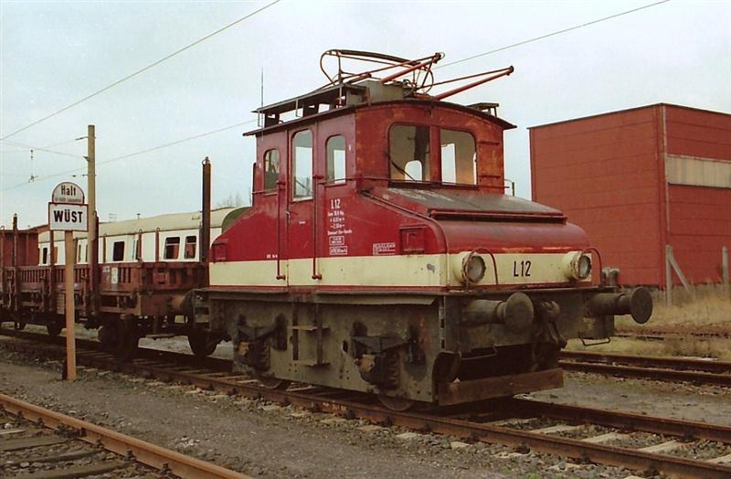 Lok L12 In Rummelsburg